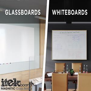 مزیت وایت شیشهای به وایت برد عادی چیست؟